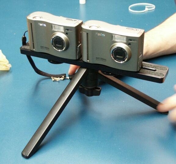 EVL Low Cost Digital Stereo Still Camera