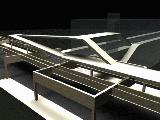 Computer block model of proposed ramp