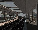 Rendered computer model of proposed station interior.