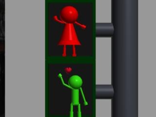 CS527 Project 1 - Walking Little Green Man