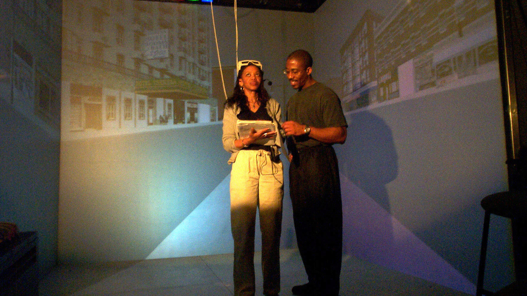 Users Explore <em>Virtual Harlem</em>