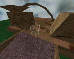 Third Person View in Simulator of CAVE within Virtual Environment