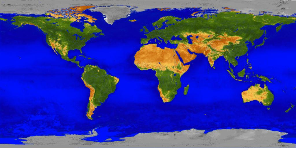 Earth Images - Map earth